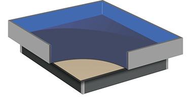 Wasserbetten - Hardside-Systeme
